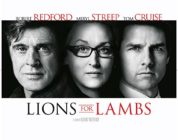 LIONS FOR LAMBS (2007) MOVIE REVIEW